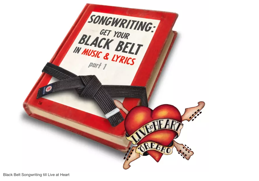 Black Belt Songwriting Camp at Live&Heart, Örebro, Sweden